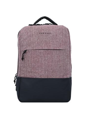 FORVERT New Lance Rucksack 40 cm Laptopfach in flannel burgundy