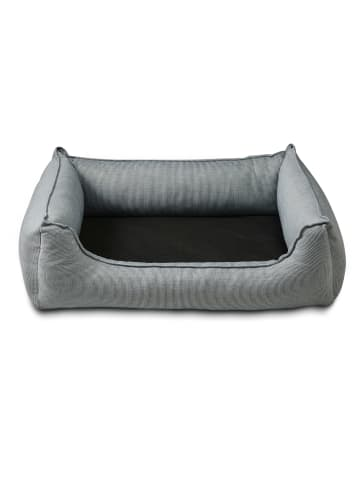 WOLTERS Hundebett Noble Stripes L: denim/granit 105 x 80cm