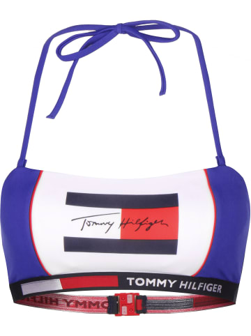 Tommy Hilfiger Bikini Oberteil W in cobalt