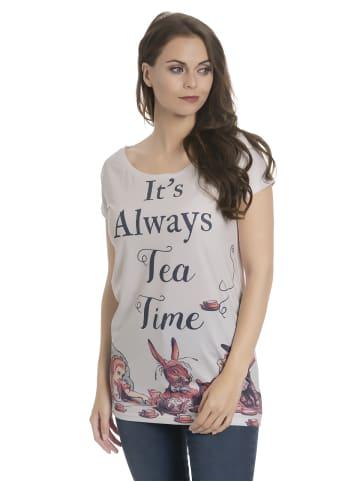 Nastrovje Potsdam Loose-Shirt Tea Party Loose in weiss