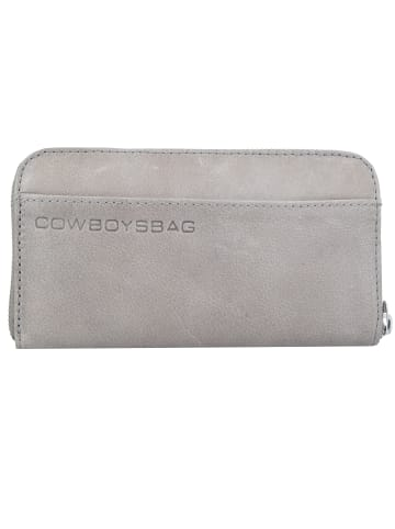 Cowboysbag The Purse Geldbörse Leder 19,5 cm in elephantgrey