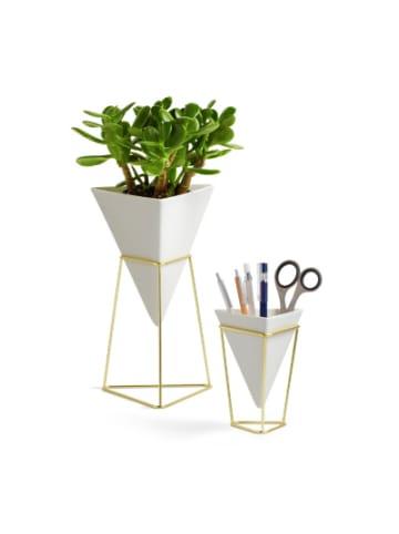 "Umbra 2tlg. Set Vase & Aufbewahrung ""Trigg Vessel"""