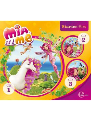 Edel CD Mia and Me- Die Hörspiele zum Buch - Starter-Box 1 ( CD 1-3)