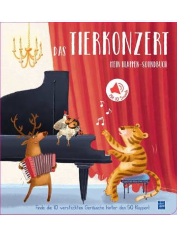 YoYo Books Mein Klappen-Soundbuch - Das Tierkonzert