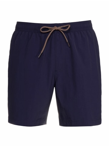 """Protest Badeshort """" FAST in Navy Ink"""