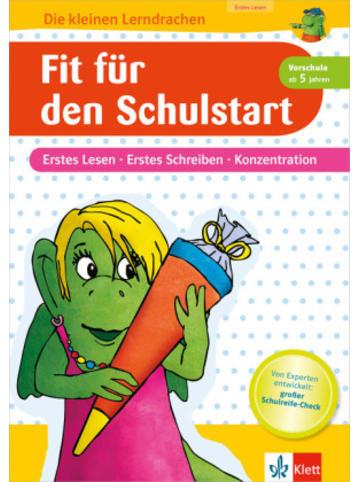 Klett Kinderbuch Fit für den Schulstart - Erstes Lesen, erstes Schreiben, Konzentration