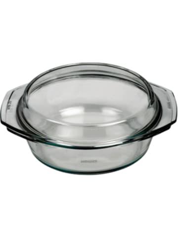 BOHEMIA Selection feuerfeste Glas Schüssel mit Deckel, bis 300°C, 2l