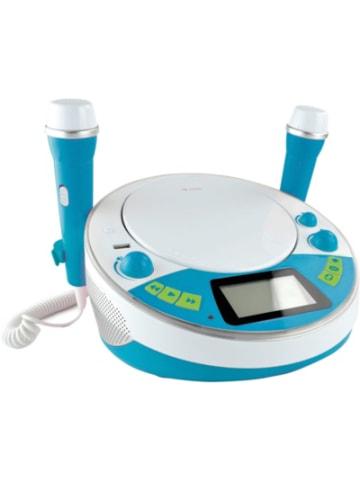 X4-Tech Kinder CD-Player Bobby Joey Jambox blau