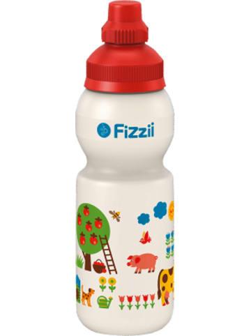 Fizzii Trinkflasche Bauernhof by Graziela, 330 ml