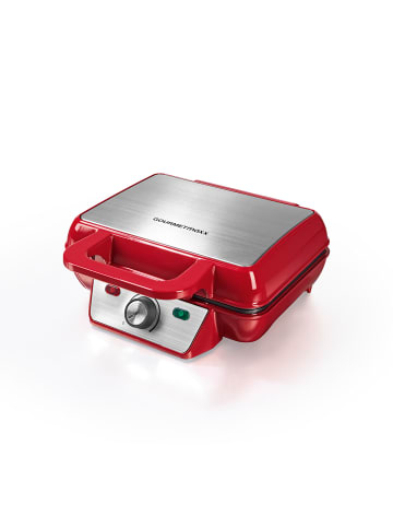 Gourmetmaxx Waffeleisen in Rot