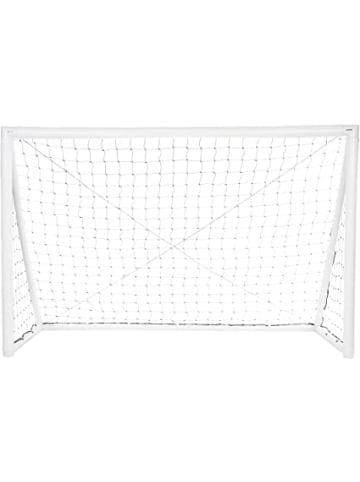 """Gorilla Aufblasbares Fußball-Tor """"iGoal"""" in weiß - 240 x 150 cm"""