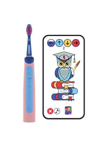 Playbrush Playbrush Smart Sonic, smarte elektrische Schallzahnbürste für Kinder in Pink