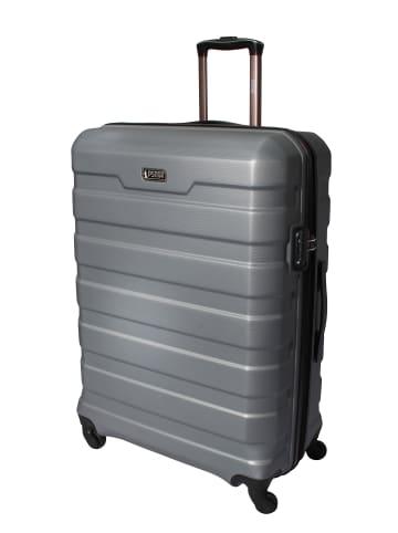 "PSNGR Koffer ""Chicago"" Größe L in Silber"