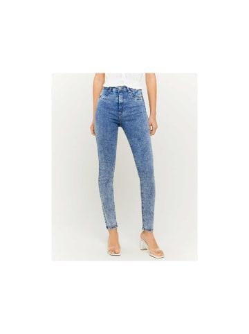 Tally Weijl Slim Fit Jeans in hell-blau