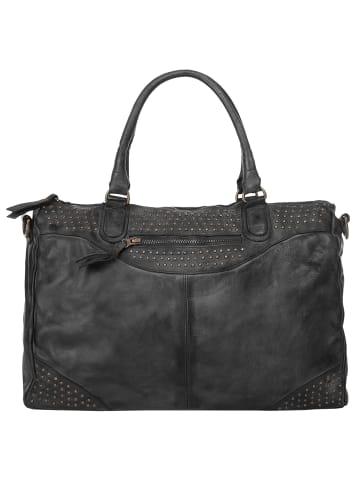X-ZONE Handtasche in schwarz