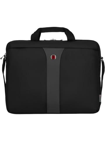 Wenger Legacy Aktentasche 44 cm Laptopfach in black/grey