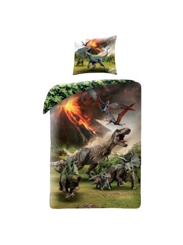 """Jurassic World Kinder Bettwäsche-Set """"Jurassic World"""" in Bunt"""