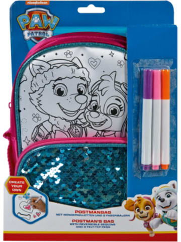 Undercover Create your Own Postmanbag - Paw Patrol