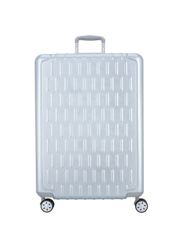 March15 Trading Discovery 4-Rollen Trolley 75 cm in silver alu
