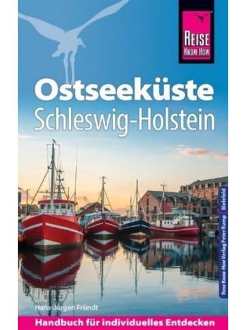 Reise Know-How Verlag Peter Rump Reise Know-How Reiseführer Ostseeküste Schleswig-Holstein