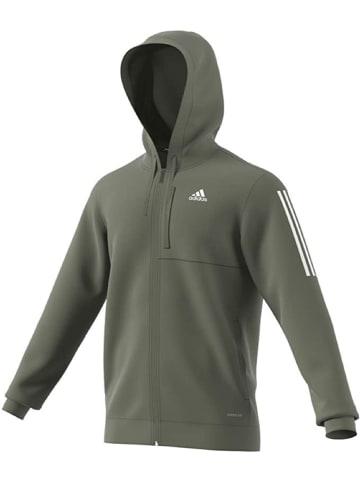 Adidas Hoodie M Mh Aero Fz in Grün