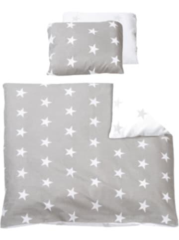Roba Babybettwäsche Little Star, Baumwolle, grau, 80 x 80 cm