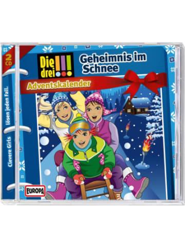 Sony CD Die drei !!! Adventskalender - Geheimnis im Schnee