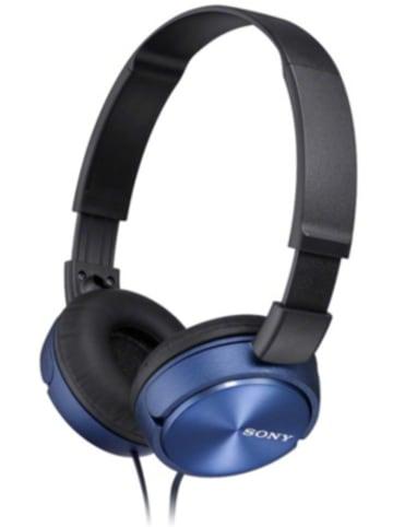 Sony MDRZX310AP, Leichte Kopfhörer mit Kopfbügel mit faltbarem Design in blau