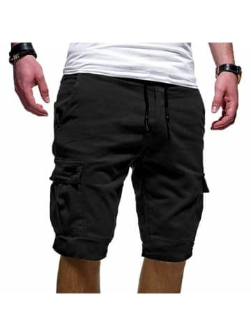 Behype Cargo-Shorts SEAN in schwarz