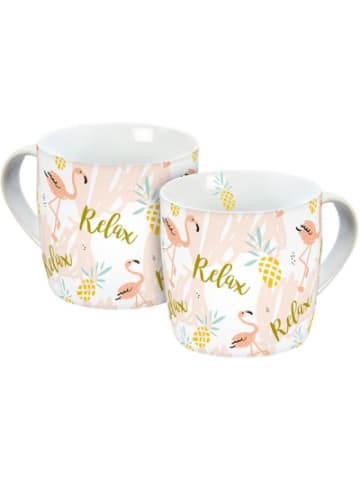 "INFINITE YOU Kaffeebecher ""Flamingo Relax"", 300ml"
