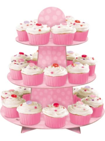 Feiermeier® CupCake Ständer, pink