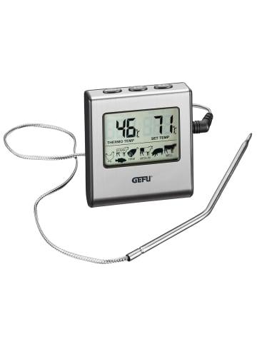 GEFU Digitales Bratenthermometer TEMPERE in schwarz/silber