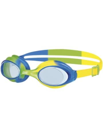 ZOGGS Schwimmbrille Bondi Junior, grün-blau-gelb