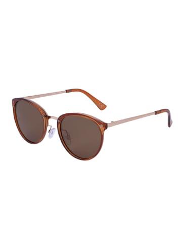 TOSH KlassischFashion-Brille in Glanz-Optik in BROWN