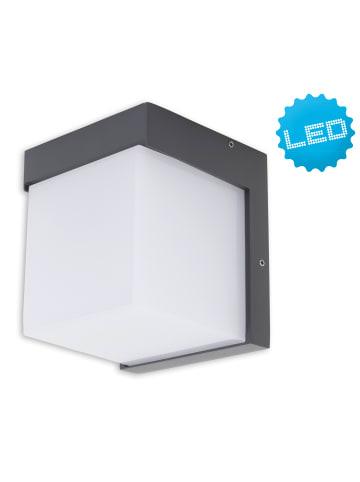 "Näve LED Außen Wandleuchte ""Rico"" (H) 11,6 cm in aluminium"