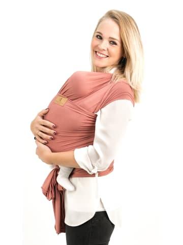 """HÄNSCHENKLEIN Baby Wrap """"SALMON"""" in Lachsfarben"""