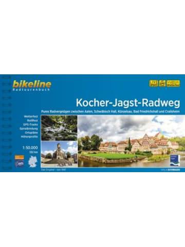 Esterbauer Bikeline Radtourenbuch Kocher-Jagst-Radweg