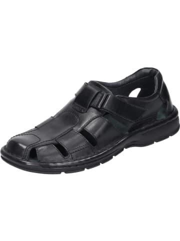 Comfortabel Komfort-Sandalen in schwarz