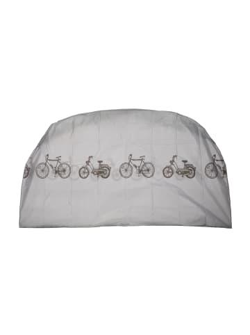 Relaxdays 3x Fahrradgarage in Grau