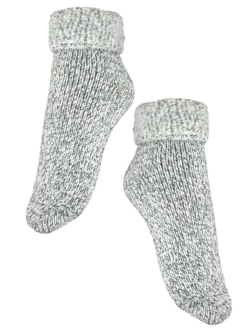 Rogo Socken in Hellgrau