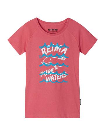 """Reima T-Shirt """" Silein """" in Strawberry pink"""