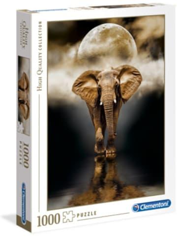 Clementoni Puzzle 1.000 Teile High Quality Collection - Der Elefant