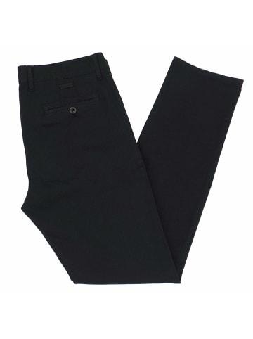 ALBERTO Stoffhosen in schwarz