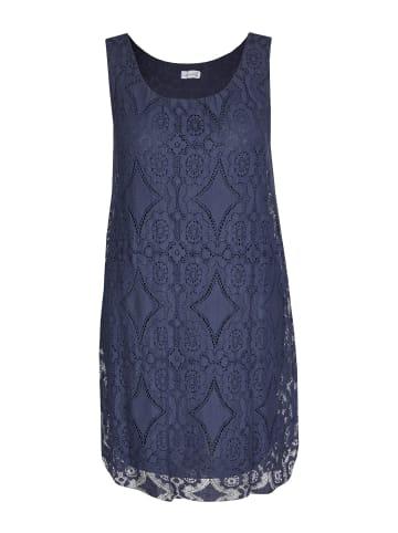 Made in Italy Sommerkleid in blau