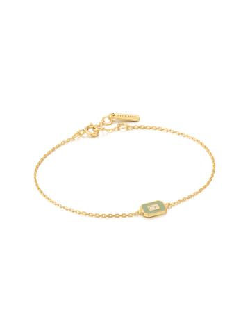Ania Haie Armband B028-02G-B in gold-grün