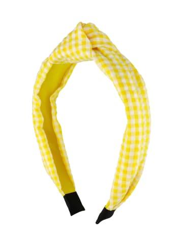 Six Haarreifen in gelb