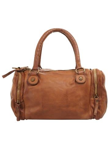 X-ZONE Handtasche in cognac