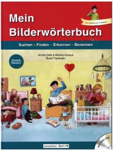 Schulbuchverlag Anadolu Mein Bilderwörterbuch, Deutsch - Polnisch, m. Audio-CD