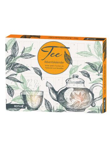 """ROTH Adventskalender """"Tee"""" mit Teebeuteln"""