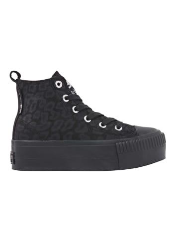 British Knights Sneaker Kaya mid in leopard/schwarz